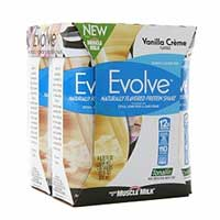 Print a coupon for $1 off one Evolve Naturally Flavored Protein Shake 4-pack