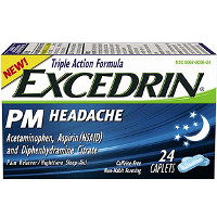 Save $1.50 on one bottle of Excedrin PM Headache, 24 count or larger