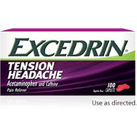 Print a coupon for $1 off one bottle of Excedrin Tension Headache, 24 count or larger