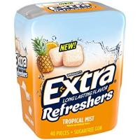 Print a coupon for $1 off one EXTRA Refreshers bottle