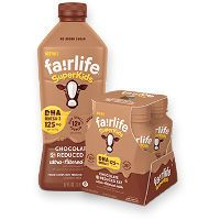 Print a coupon for $0.75 off one Fairlife SuperKids Bottle or 4-pack
