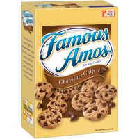 Print a coupon for $1 off two packages of Famous Amos Cookies