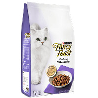 Save $1 on 3 packages of Purina Fancy Feast or Whisker Lickin's Cat Food