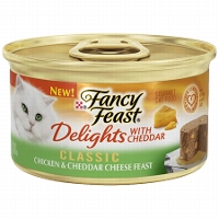 Print a coupon for $1 off ten cans of Fancy Feast Medleys Gourmet Cat Food