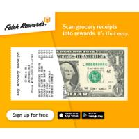 Free rewards on groceries on thousands of products every day, no matter where you get your groceries with Fetch Rewards