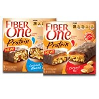 Save $0.50 on one box of Fiber One Streusel Bars