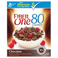 Save $0.75 on any box of Fiber One Cereal