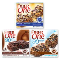 Print a coupon for $0.50 off two boxs of Fiber One Chewy Bars or 90 Calorie Products