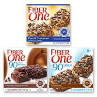 Print a coupon for $0.50 off any two boxes of Fiber One Chewy Bars or 90 Calorie Snack products
