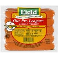 Print a coupon for $0.50 off one package of Field Hot Dogs