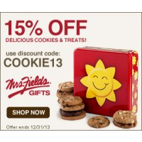 Mrs. Field's Original Cookies coupon - Click here to redeem