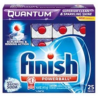 Save $0.55 on any Finish Dishwasher Detergent