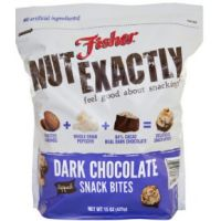 Save $1 on a bag of Fisher Nut Exactly Snack Bites