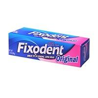 Print a coupon for $1 off Fixodent Adhesive, 2oz or larger