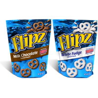 Save $1 on two bags of FLIPZ Chocolate Covered Pretzels, 5oz. or larger