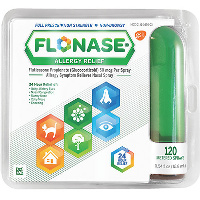Print a coupon for $4 off Flonase Allergy Relief Spray Bottle, 120 metered spray