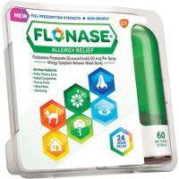 Print a coupon for $2 off Flonase Allergy Relief Spray Bottle, 60 metered spray