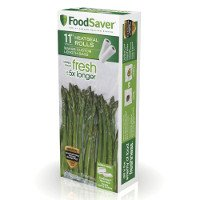 Save $3 on any FoodSaver Heat-Seal Bag or Roll, valued at $18 or more