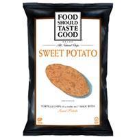 Save $0.75 on a bag of Food Should Taste Good Tortilla Chips or other Snacks
