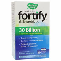 Print a coupon for $4 off Nature's Way Fortify 30 Billion Formula Probiotic