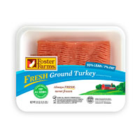 Save $1 on one package of Foster Farms Ground Turkey