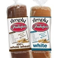 Print a coupon for $1 off any 2 loaves of Simply Freihofer's breads