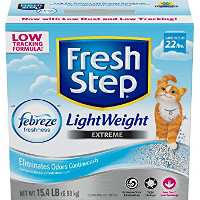 Print a coupon for $1.50 off  Fresh Step Lightweight Clumping Cat Litter