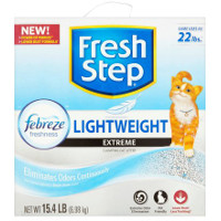 Print a coupon for $1.50 off Fresh Step Clumping Cat Litter, 15.4lbs or larger