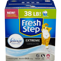 Print a coupon for $1 off Fresh Step Cat Litter, 18lbs. or larger