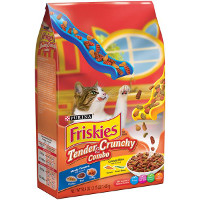 Print a coupon for $0.75 off Friskies Tender + Crunchy Combo dry cat food