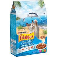 Print a coupon for $1 off any Purina Friskies Brand Dry Cat Food, 16 lb bag or larger