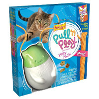Save $2 on any Friskies Pull 'n Play Pack Cat Toy