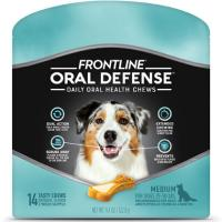 Print a coupon for $3 off one package of Frontline Oral Defense Pet Chews for Medium Sized Dogs