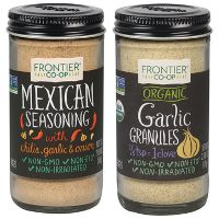 Print a coupon for $1 off any Frontier Co-op Bottled Spice or Spice Blend