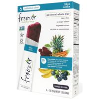 Print a coupon for $0.55 off one box of Frozen fruit and veggie snacks