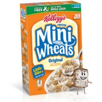 Save $1 on two boxes of Kellogg's Frosted Mini-Wheats Cereal