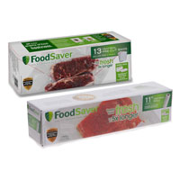 Save $1.50 on two FoodSaver Bags or Rolls
