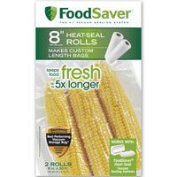 Save $2 on any FoodSaver Heat-seal Bag or Roll