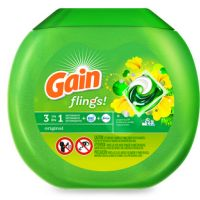 Print a coupon for $2 off Gain Flings, 23 ct. or larger
