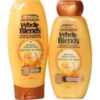 Print a coupon for $1 off any Garnier Whole Blends Shampoo, Conditioner, or Treatment Product