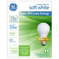 Save $1 on a GE lighting product priced at $4 or more