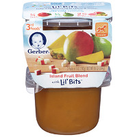 Save $1 on any three Gerber 3rd Foods