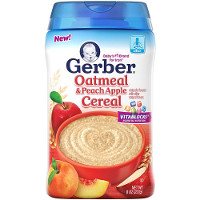 Save $0.75 on any Gerber Cereal, 8oz. or larger