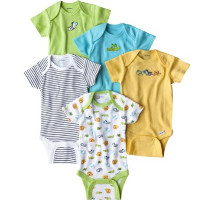Print a coupon for $1 off Gerber Onesies Bodysuits, 3, 4 or 5-pack only