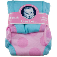 Print a coupon for $1 off one Gerber Cloth Diaper or Training Pant