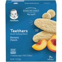 Print a coupon for $1 off any six Gerber Puree 2-pack tubs
