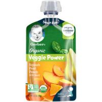 Print a coupon for $0.75 off two Gerber Pouches