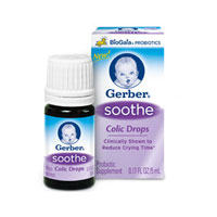Save $5 on One bottle of Gerber Soothe Colic Drops