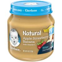 Print a coupon for $1 off any four Gerber Pouches or Glass Jars