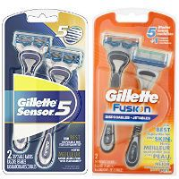 Print a coupon for $3 off two packs of Gillette Disposable Razors, 2-pack or larger